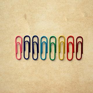 Paper Clips - Obrázkek zdarma pro iPad mini