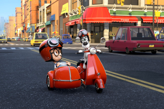 Mr Peabody & Sherman Wallpaper for Android, iPhone and iPad
