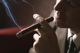 Smoke a Cigar Background for Android, iPhone and iPad