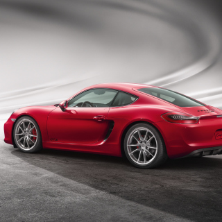 Porsche Cayman GTS - Obrázkek zdarma pro 320x320