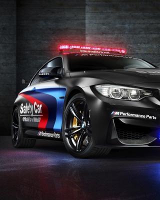 BMW M4 Coupe Police - Obrázkek zdarma pro iPhone 6