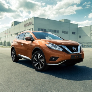 Nissan Murano 2017 - Obrázkek zdarma pro 320x320