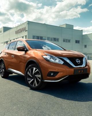 Nissan Murano 2017 - Obrázkek zdarma pro 240x400