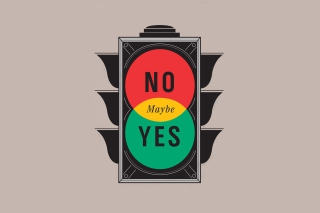 Maybe Yes Maybe No Wallpaper for Android, iPhone and iPad