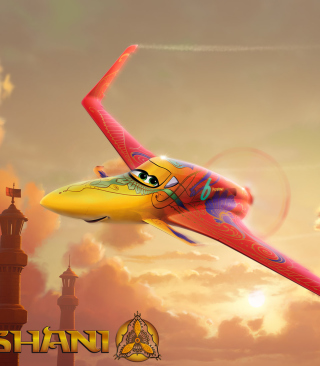 Disney Planes - Ishani - Obrázkek zdarma pro Nokia X2