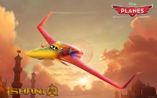 Disney Planes - Ishani - Obrázkek zdarma pro HTC Desire HD