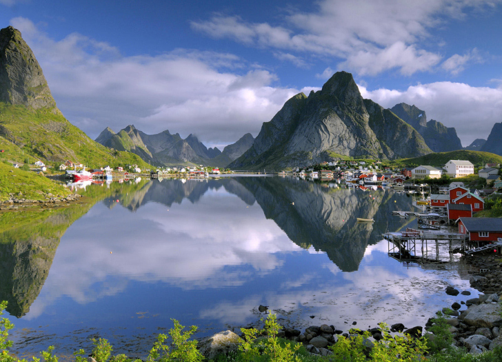 Lofoten Norway HD wallpaper
