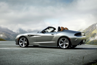 BMW Z4 Roadster Background for Android, iPhone and iPad