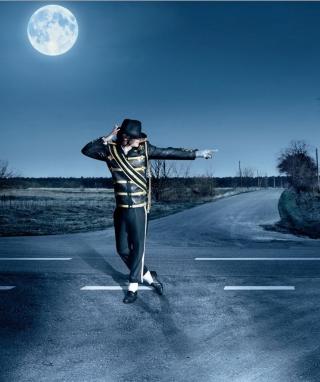 Dancing Michael Jackson - Obrázkek zdarma pro Nokia Asha 309