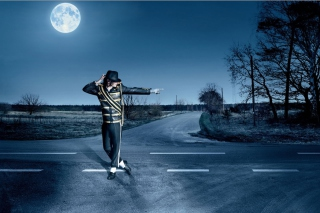 Dancing Michael Jackson Picture for Android, iPhone and iPad