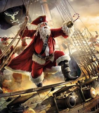 Pirate Santa - Obrázkek zdarma pro 240x320