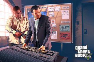 Grand Theft Auto V Mike Franklin - Obrázkek zdarma pro Widescreen Desktop PC 1920x1080 Full HD