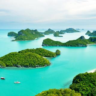 Mu Ko Ang Thong National Park in Thailand - Obrázkek zdarma pro iPad Air