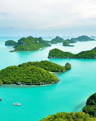 Mu Ko Ang Thong National Park in Thailand - Obrázkek zdarma pro 360x480