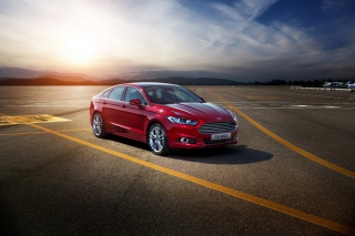 Ford Mondeo 2015 Background for Android, iPhone and iPad