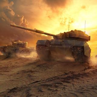 World of Tanks - Obrázkek zdarma pro iPad 2