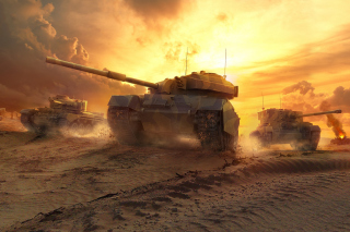 World of Tanks Background for Android, iPhone and iPad