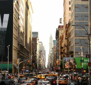 New York Streets - Obrázkek zdarma pro 320x320