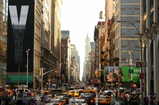 Free New York Streets Picture for Android, iPhone and iPad