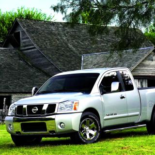 Nissan Titan - Obrázkek zdarma pro 320x320