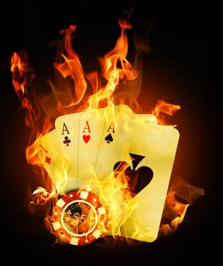 Fire Cards In Casino - Obrázkek zdarma pro Nokia Lumia 920T