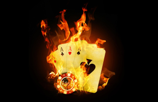 Fire Cards In Casino - Obrázkek zdarma pro Android 540x960