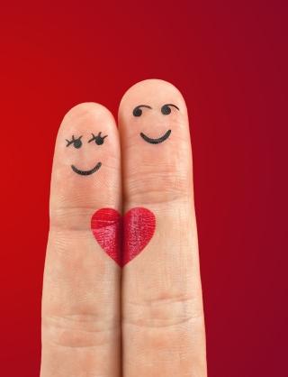 To Be In Love - Obrázkek zdarma pro 352x416