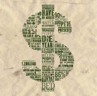 Dollar - Obrázkek zdarma pro iPad