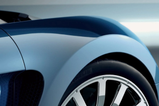 Veyron Blue Background for Android, iPhone and iPad