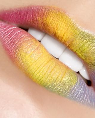 Rainbow Lips - Obrázkek zdarma pro Nokia Lumia 2520