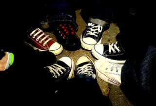 Emo Allstar Shoes Picture for Android, iPhone and iPad