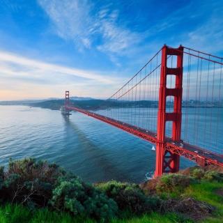 San Francisco, Golden gate bridge - Obrázkek zdarma pro iPad