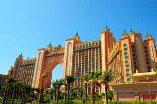 Atlantis The Palm Hotel & Resort, Dubai Background for Android, iPhone and iPad