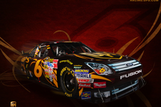 Ford Fusion NASCAR Picture for Android, iPhone and iPad