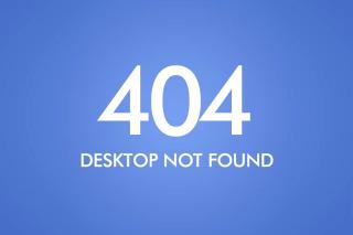404 Desktop Not Found - Obrázkek zdarma pro Nokia Asha 205