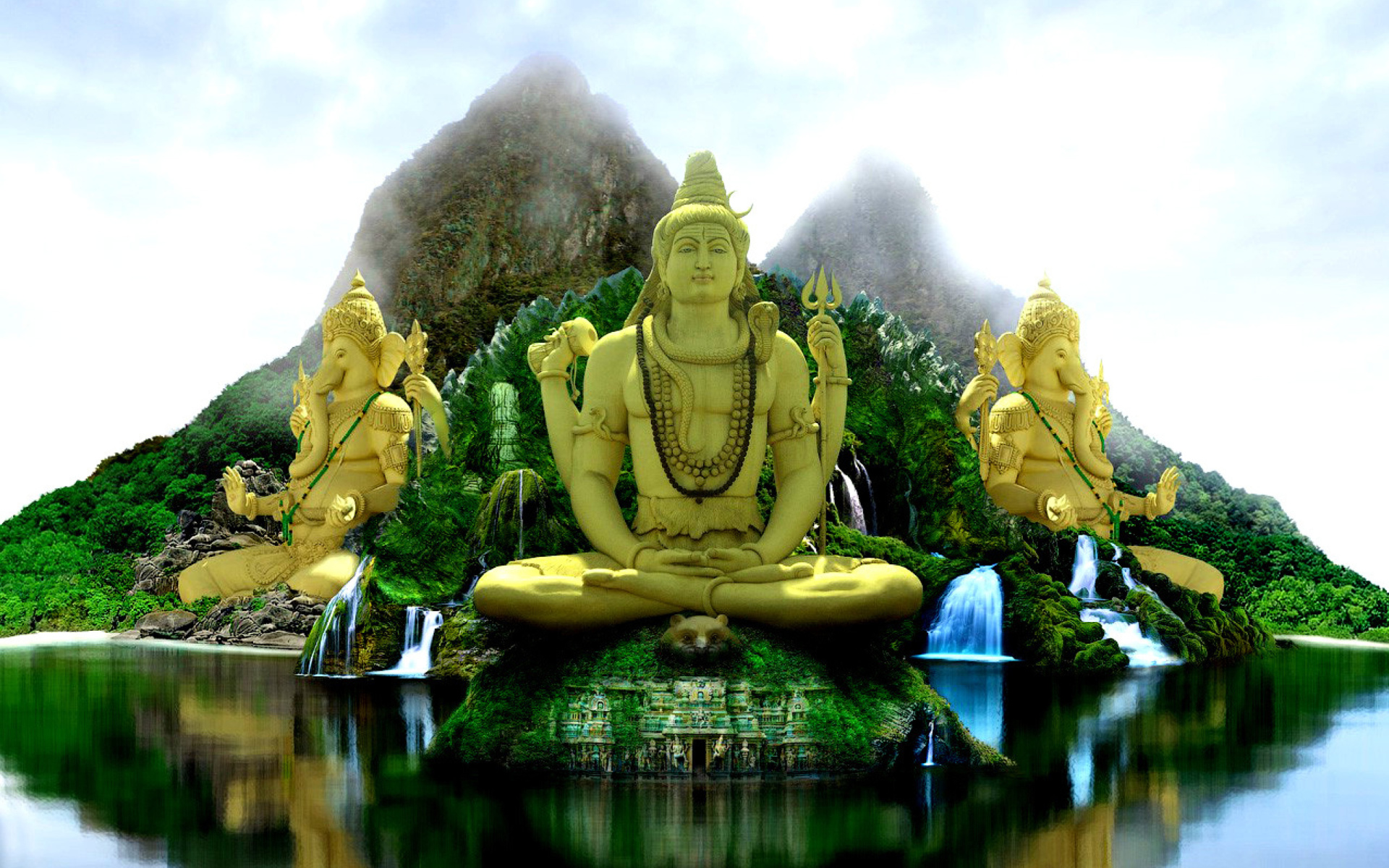 Buddhist Temple Wallpaper For Widescreen Desktop PC