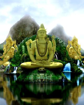 Buddhist Temple - Obrázkek zdarma pro Nokia Asha 501