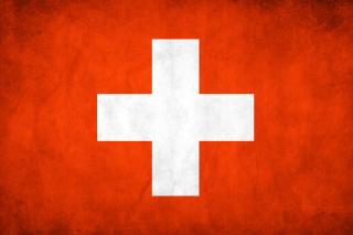 Switzerland Grunge Flag Wallpaper for Android, iPhone and iPad