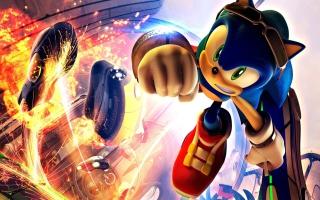 Super Sonic - Obrázkek zdarma pro 1600x900