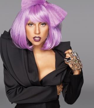 Lady Gaga Crazy Style - Obrázkek zdarma pro Nokia Lumia 2520