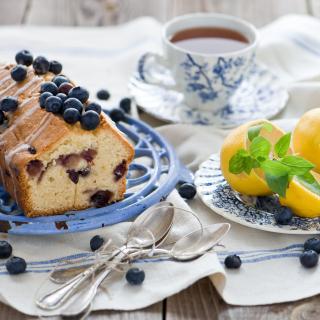 Blueberry Cake - Obrázkek zdarma pro iPad mini 2