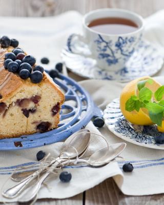 Blueberry Cake - Obrázkek zdarma pro Nokia C1-01