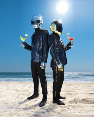 Daft Punk - Obrázkek zdarma pro Nokia Asha 503
