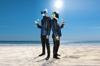 Daft Punk - Obrázkek zdarma pro Nokia Asha 210