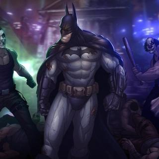 Batman, Arkham City - Obrázkek zdarma pro 208x208