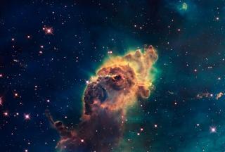 Space Galaxy - Obrázkek zdarma pro Xiaomi Mi 4
