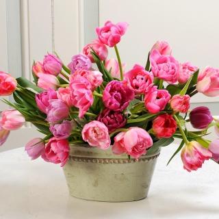 Bouquet of Tulips - Obrázkek zdarma pro 2048x2048