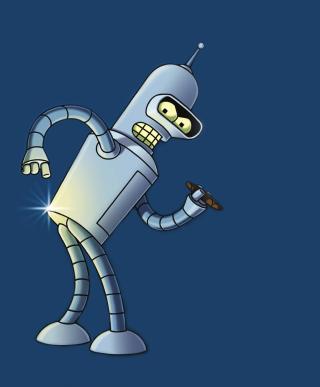 Bender Bending Rodriguez - Obrázkek zdarma pro 1080x1920