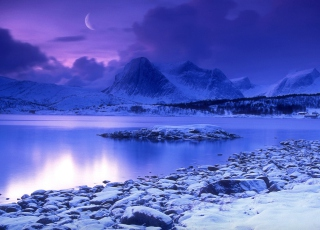 Norway Country Cold Lake Wallpaper for Android, iPhone and iPad