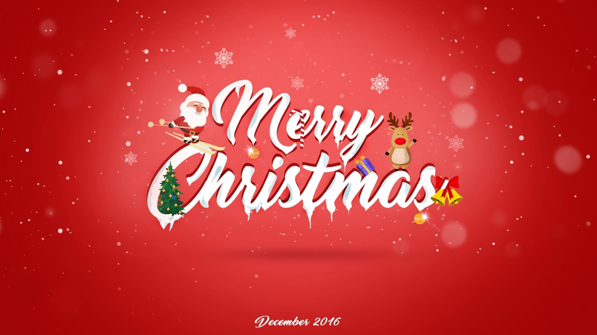 Christmas Calendar 2016 : Merry christmas calendar wallpaper for
